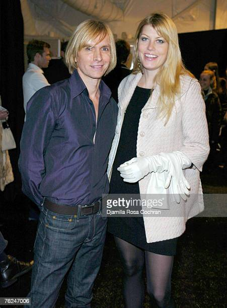 Marc Bouwer, designer, and Meredith Ostrom