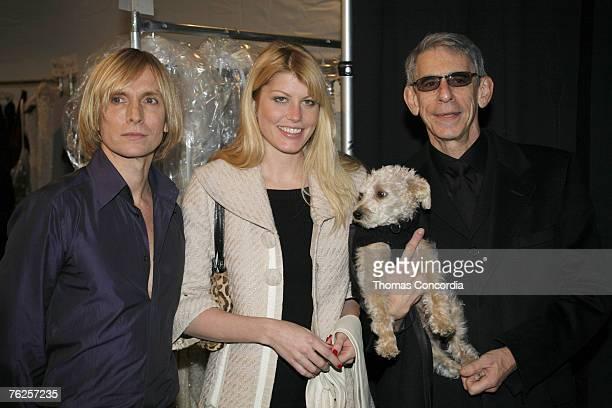 Marc Bouwer, designer, Meredith Ostrom and Richard Belzer