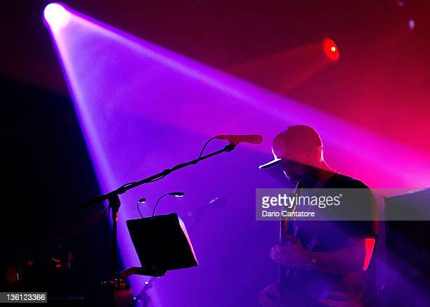 Marc Brownie Brownstein of the Disco Biscuits performs at Best Buy Theater on December 26 2011 in New York City