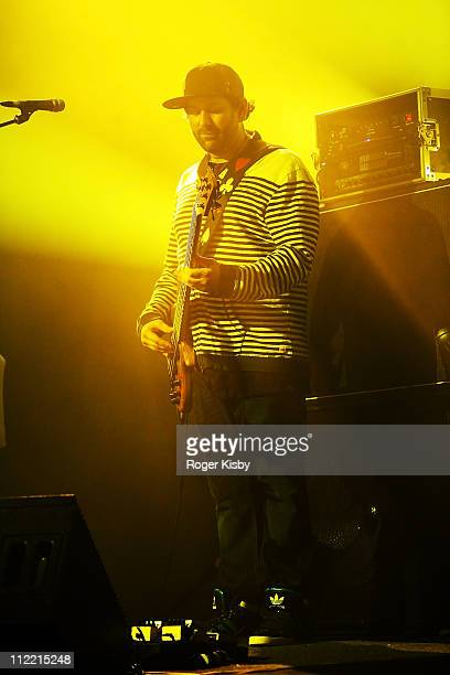 Marc Brownstein of The Disco Biscuits performs onstage at Best Buy Theater on April 14 2011 in New York City