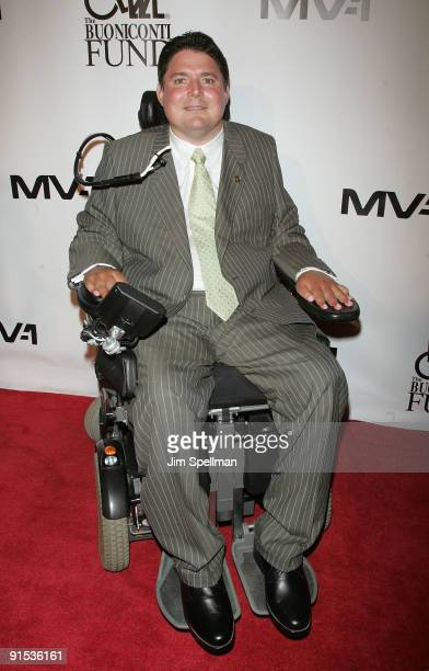 Marc Buoniconti attend the 24th Annual Great Sports Legends Dinner at The Waldorf=Astoria on October 6 2009 in New York City