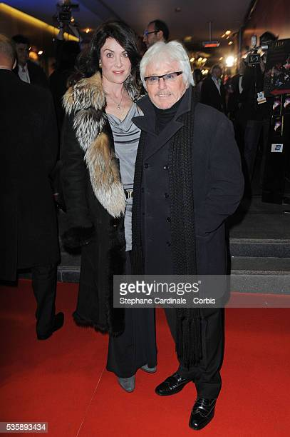 Marc Cerrone and his wife Jill attend the Globes de Cristal 2010 Awards at Le Lido in Paris