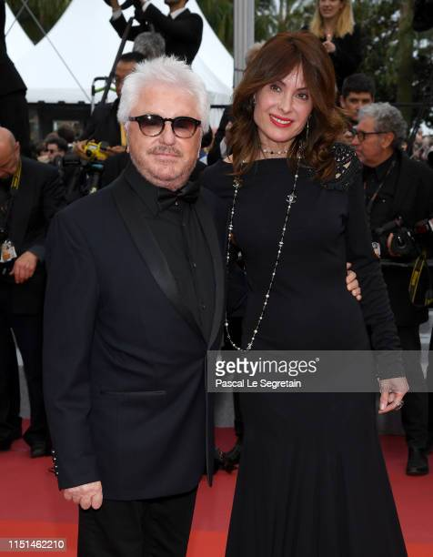 Marc Cerrone and his wife Jill Cerrone attend the screening of Sibyl during the 72nd annual Cannes Film Festival on May 24 2019 in Cannes France