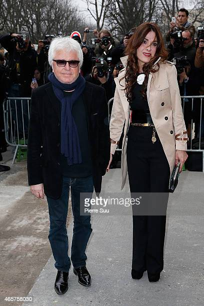 Marc Cerrone and his wife Jill Cerrone attends the Chanel show as part of the Paris Fashion Week Womenswear Fall/Winter 2015/2016 on March 10 2015 in...