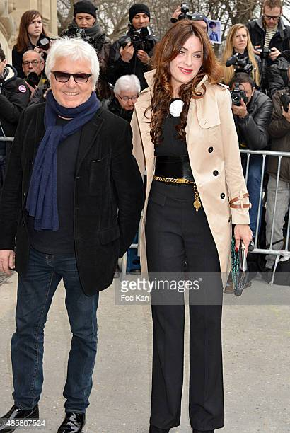 Marc Cerrone and Jill Cerrone attend the Chanel show as part of the Paris Fashion Week Womenswear Fall/Winter 2015/2016 on March 10 2015 in Paris...