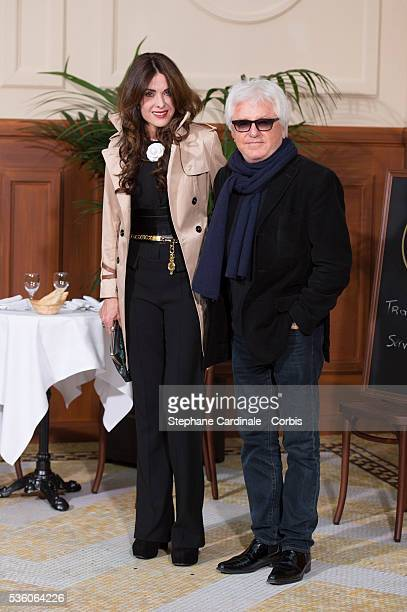 Marc Cerrone and Jill Cerrone attend the Chanel show at the 'Grand Palais' as part of the Paris Fashion Week Womenswear Fall/Winter 2015/2016 on...