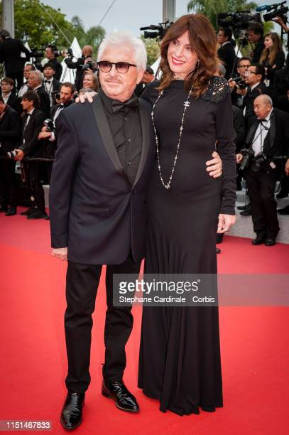 Marc Cerrone and Jill Cerrone attend the screening of Sibyl during the 72nd annual Cannes Film Festival on May 24 2019 in Cannes France