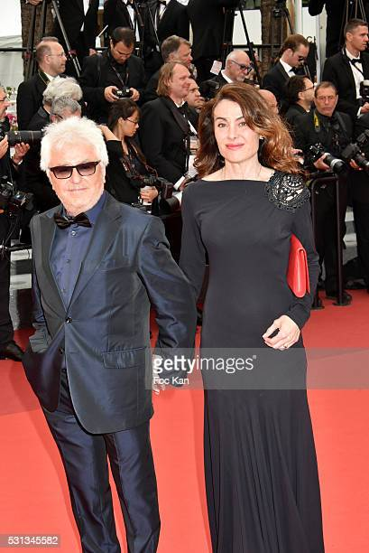 Marc Cerrone and Jill Cerrone attend the 'Slack Bay ' premiere during the 69th annual Cannes Film Festival at the Palais des Festivals on May 13 2016...
