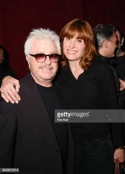 Marc Cerrone and Jill Cerrone the Bain de Foule Party Minuit and Kongas Show Case At Les Bains Paris on April 5 2018 in Paris France