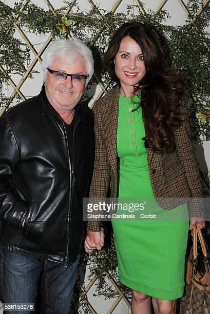 Marc Cerrone with his wife Jill attend the Escada Garden Party in Paris