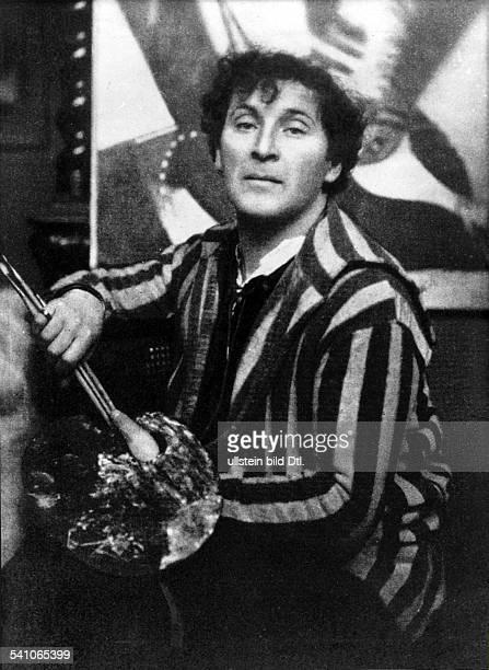 Marc Chagall *07.07.1887-+Maler, Frankreich- Portrait- 1925