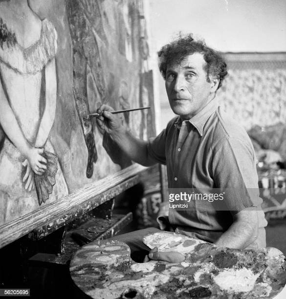Marc Chagall French painter August 1934