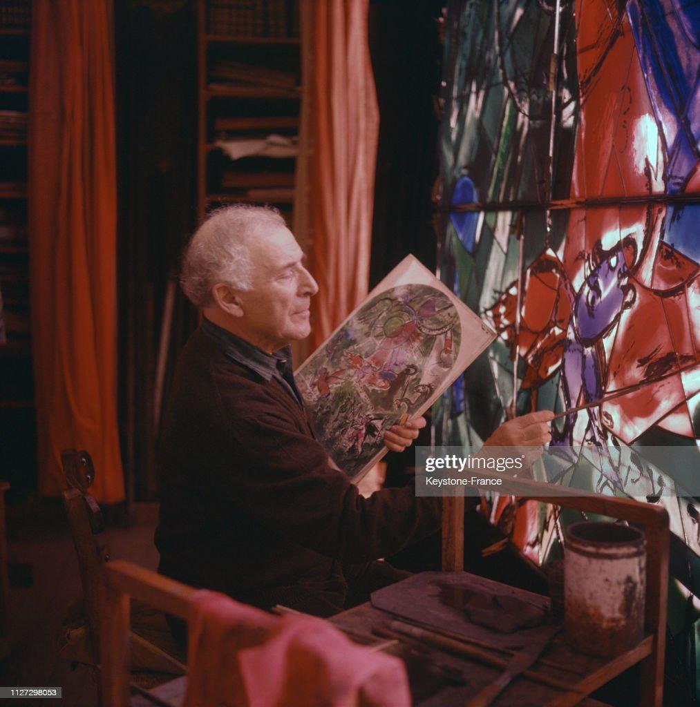 Marc Chagall : Nachrichtenfoto