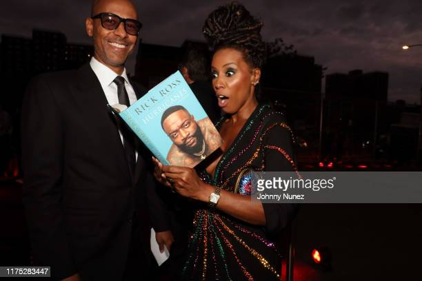 Marc Chamblin and June Ambrose attend the Godfather Of Harlem New York Screening at The Apollo Theater on September 16 2019 in New York City