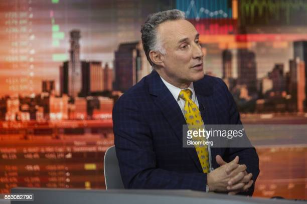 Marc Chandler global head of currency strategy for Brown Brothers Harriman and Co speaks during a Bloomberg Television interview in New York US on...
