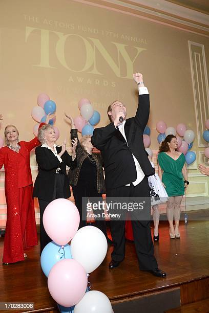 Marc Cherry Nancy Dussault Anne Jeffreys June Lockhart Millicent Martin Charlotte Rae Cathy Rigby and Marissa Jaret Winokur attend the the Actors...