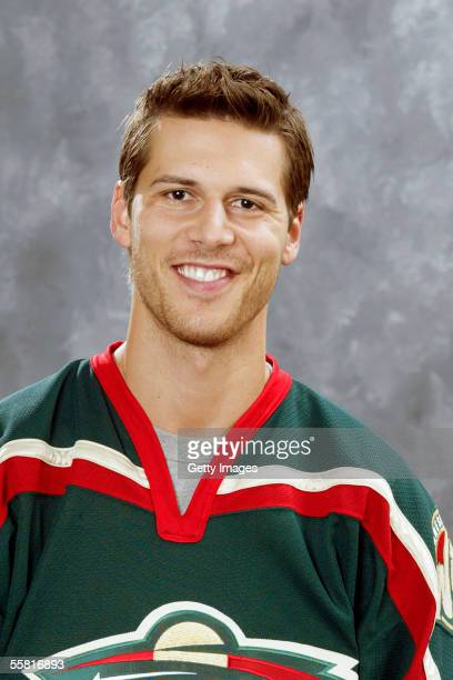 Marc Chouinard of the Minnesota Wild poses for a portrait at Xcel Energy Center on September 122005 in Saint PaulMinnesota