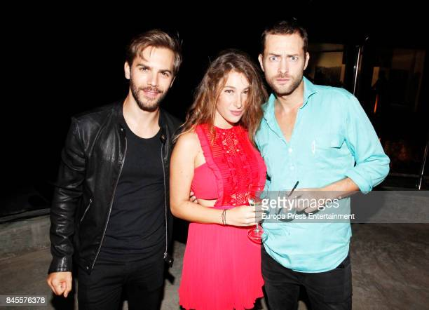 Marc Clotet and Peter Vives attend the presentation of the new Emporio Armani's fragances 'Stronger with you' and 'Because it's you' on September 9...