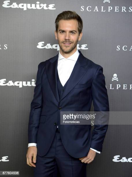 Marc Clotet attends Esquire and Scalpers 10th anniversary party at the Palacio de Santa Coloma on November 22 2017 in Madrid Spain