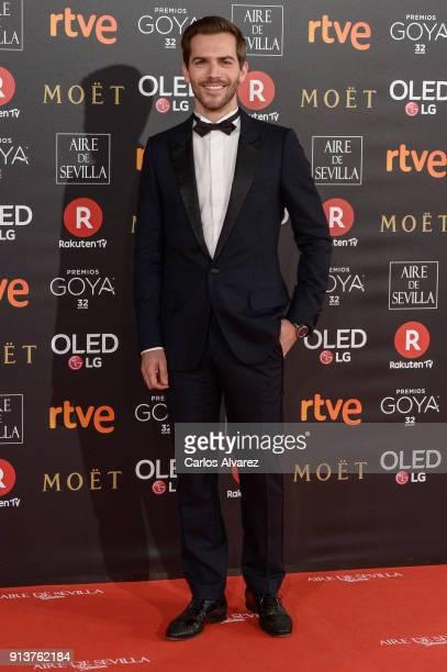 Marc Clotet attends Goya Cinema Awards 2018 at Madrid Marriott Auditorium on February 3 2018 in Madrid Spain