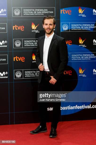 Marc Clotet attends 'Marrowbone' premiere during 65th San Sebastian Film Festival on September 27 2017 in San Sebastian Spain