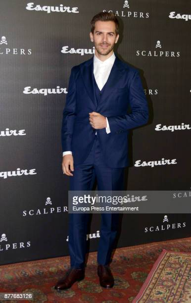 Marc Clotet attends the 10 Magnificent Fashion of the Decade Award by Esquire Scalpers at Santa Coloma Palace on November 22 2017 in Madrid Spain