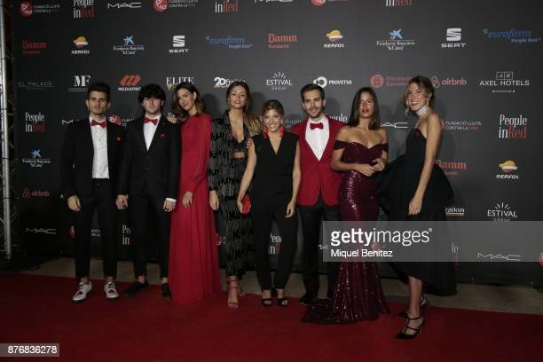 Marc Clotet attends the 'People in Red' Charity Party event for investigation against Aids at Palau de Pedralbes of Barcelona on November 20 2017 in...