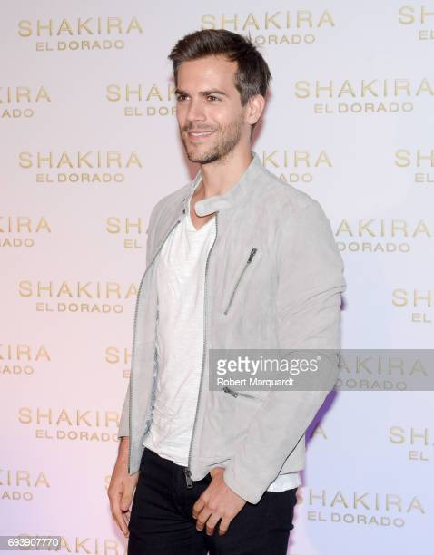 Marc Clotet poses during a photocall for the new Shakira album 'El Dorado' at the Convent of Angels on June 8 2017 in Barcelona Spain