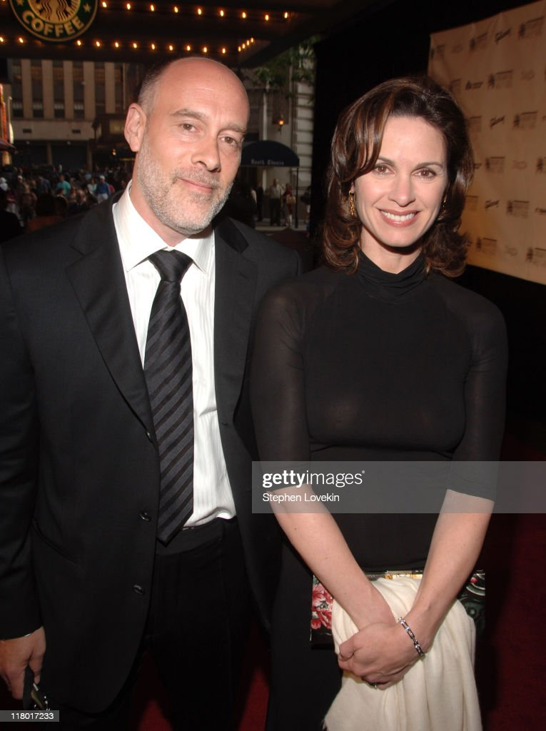 Marc Cohn and Elizabeth Vargas during 38th Annual Songwriters Hall of Fame Ceremony - Arrivals at Marriott Marquis in New York City, New York, United States.