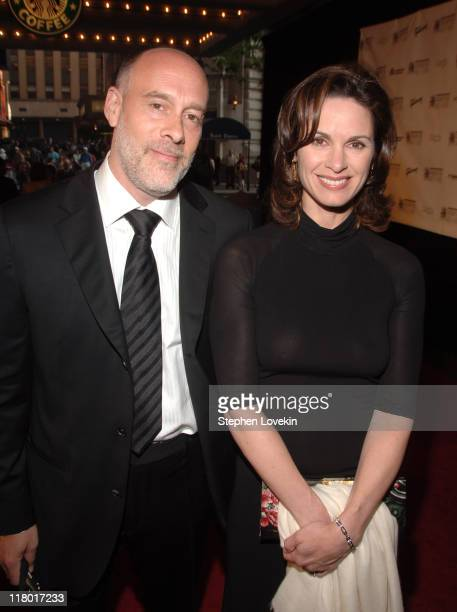 Marc Cohn and Elizabeth Vargas during 38th Annual Songwriters Hall of Fame Ceremony Arrivals at Marriott Marquis in New York City New York United...