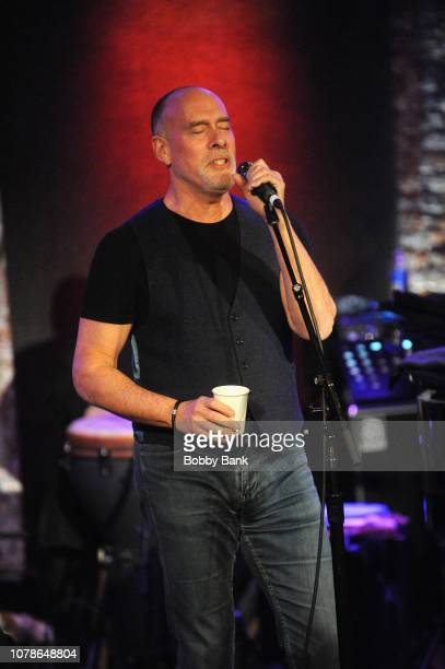 Marc Cohn performs at the Marc Cohn John Oates In Concert with special guests The Blind Boys of Alabama at City Winery on January 6 2019 in New York...