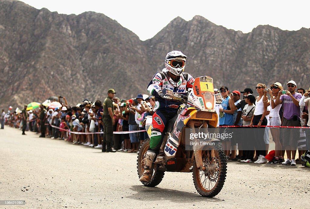 2012 Dakar Rally - Day Four