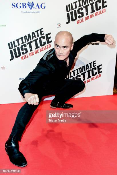 Marc Dacascos during the 'Ultimate Justice' premiere at Kino Alexa on December 14 2018 in Berlin Germany