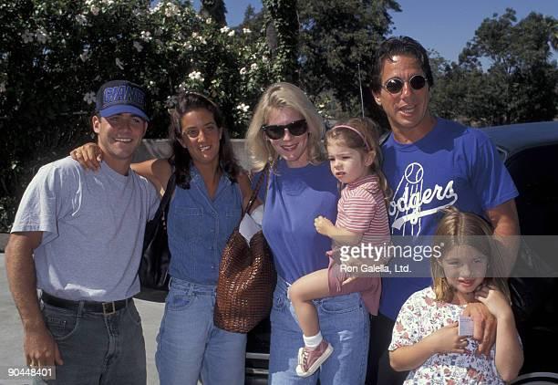 Marc Danza and wife Tracy Danza Emily Danza Tony Danza and Katie Danza