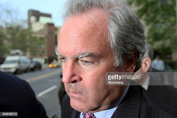 Marc Dreier, founder of Dreier LLP, exits federal court following a hearing in New York, U.S., on Monday, May 11, 2009. Dreier, the New York law firm...