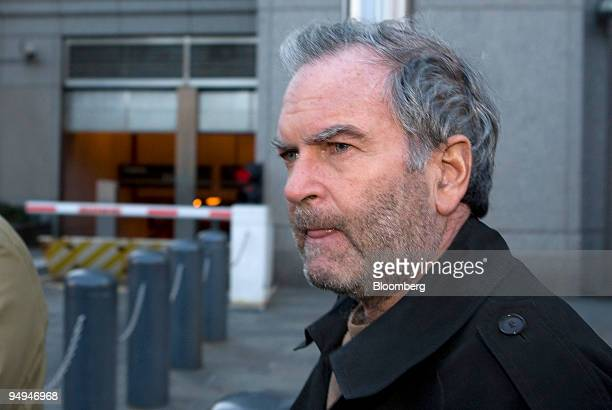 Marc Dreier, founder of Dreier LLP, leaves federal court after making bail and being released from jail in New York, on Feb. 13, 2009. Dreier, the...