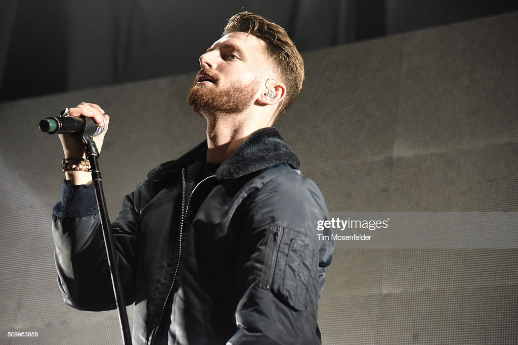 Marc E. Bassy performs during the closing night of the 'When It's Dark Out Tour' at Bill Graham Civic Auditorium on February 11, 2016 in San Francisco, California.