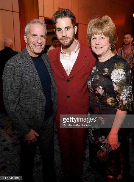 Marc E Platt Ben Platt and Julie Platt attend Netflix's The Politician Season One Premiere After Party at THE POOL on September 26 2019 in New York...