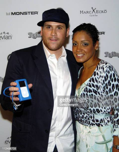 Marc Ecko and Allison during Designers Marc Ecko and Carolina Herrera Host Style and Sound A Case for a Cause June 22 2005 at Mark Ecko Enterprises...