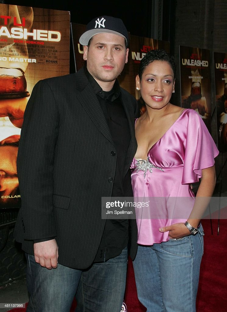 Marc Ecko and wife Allison during Unleashed New York City Premiere