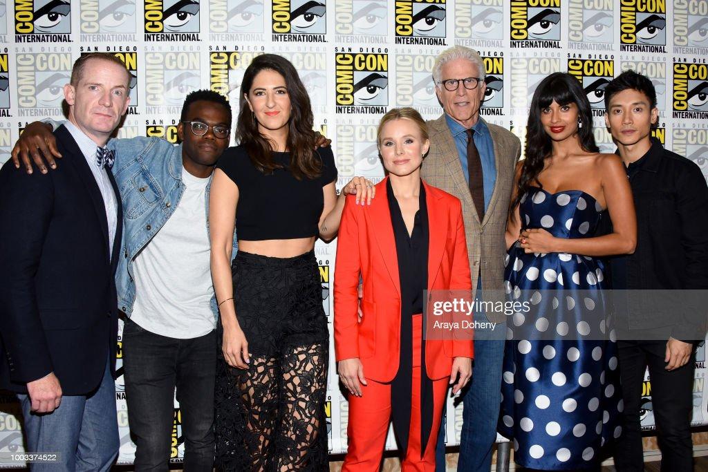 "Comic-Con International 2018 - ""The Good Place"" Press Line : News Photo"