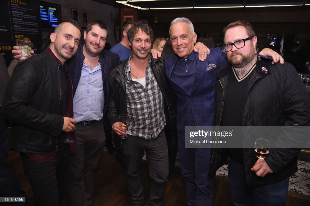 Marc Forgione, Harold Dieterle, Ken Oringer, Geoffrey Zakarian, and Jamie Bissonnette attend the Food & Wine Celebration of the 2017 Best New Chefs on April 4, 2017 in New York City.