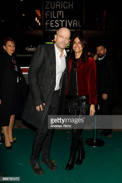 Marc Forster and Renee attend the 'All I See Is You' premiere at the 13th Zurich Film Festival on October 2 2017 in Zurich Switzerland The Zurich...