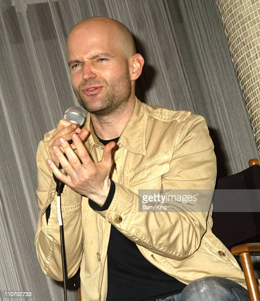 Marc Forster during Film Independent's Director Series with Director Marc Forster at Pacific Design Center in West Hollywood California United States