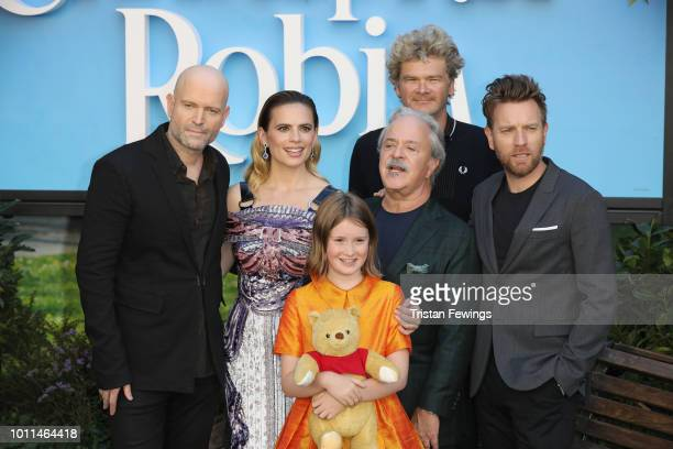 Marc Forster Hayley Atwell Bronte Carmichael Jim Cummings Simon Faranby and Ewan McGregor attend the European Premiere of 'Christopher Robin' at BFI...