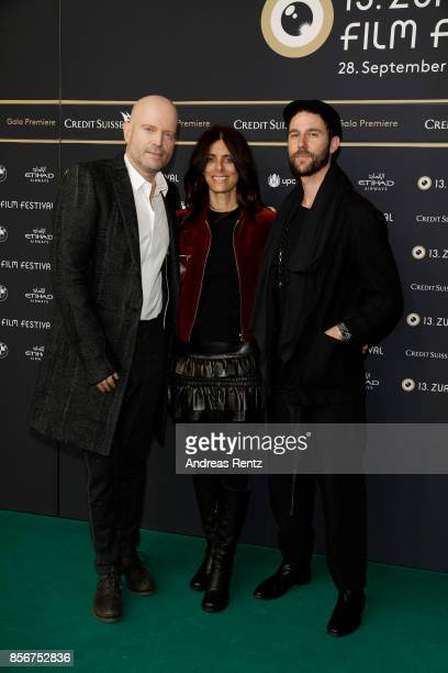 Marc Forster Renee and Matthias Koenigswieser attend the 'All I See Is You' premiere at the 13th Zurich Film Festival on October 2 2017 in Zurich...