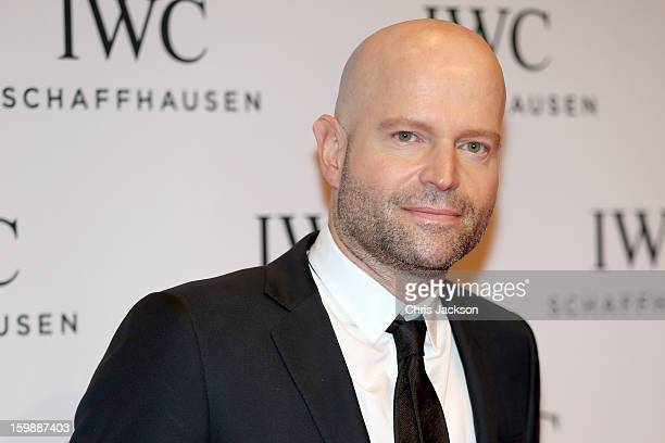 Marc Foster attends the IWC Schaffhausen Race Night event during the Salon International de la Haute Horlogerie 2013 at Palexpo on January 22 2013 in...