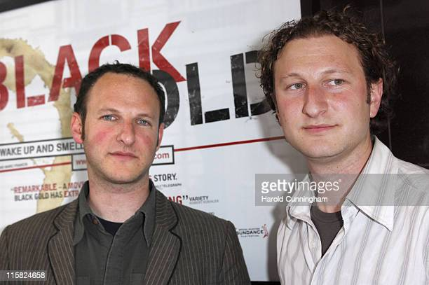 """Marc Francis and Nick Francis during """"Black Gold"""" London Premiere - Arrivals at The Curzon Mayfair in London, Great Britain."""