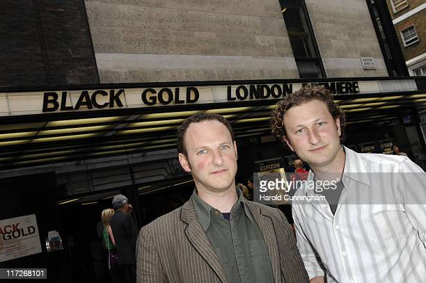 Marc Francis and Nick Francis during Black Gold London Premiere - Arrivals at The Curzon Mayfair in London, Great Britain.