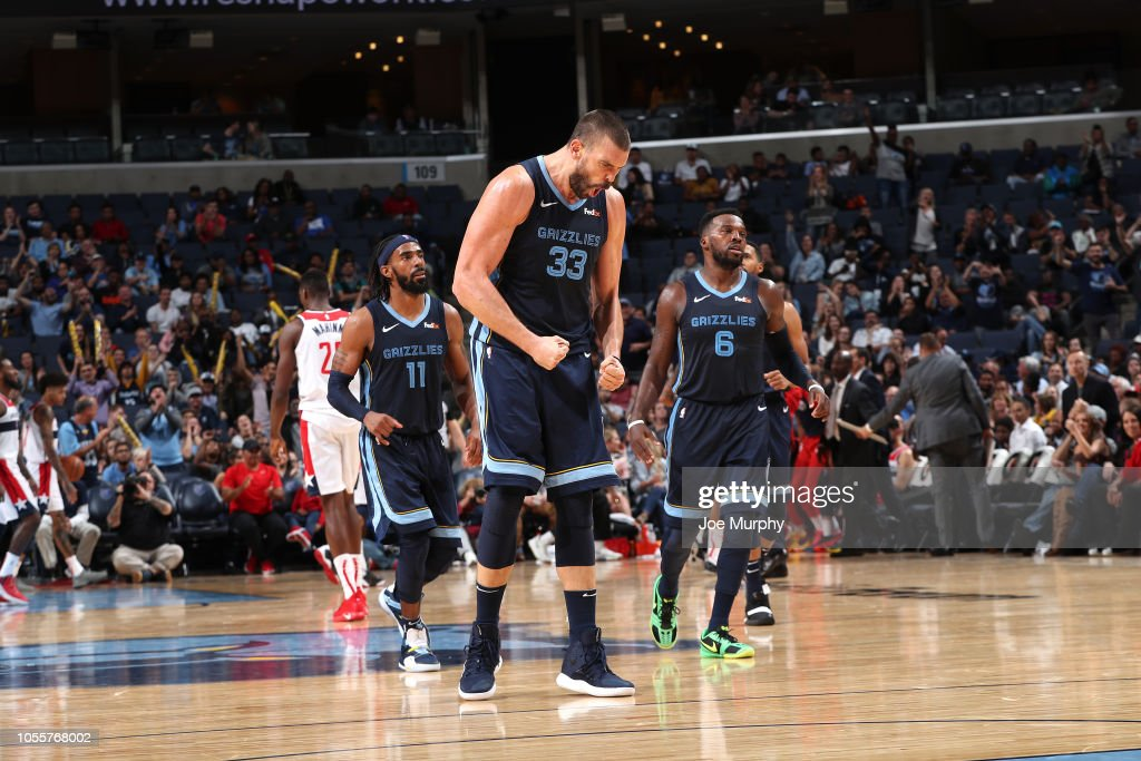 Washington Wizards v Memphis Grizzlies : News Photo